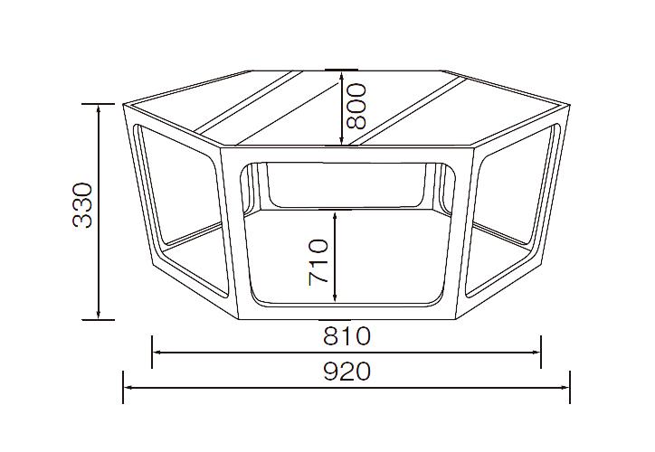 LT-69-N リビングテーブル 詳細8