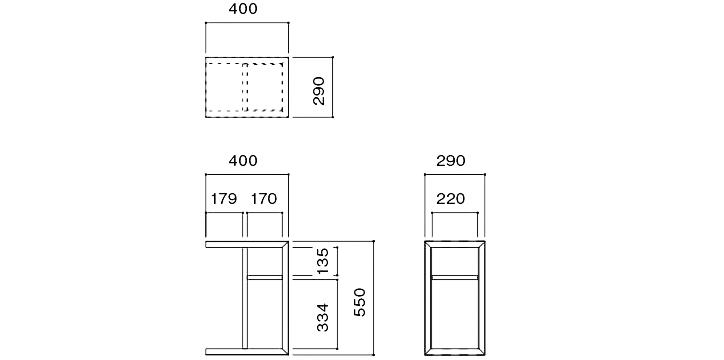 FRC-030 サイドテーブル 詳細4