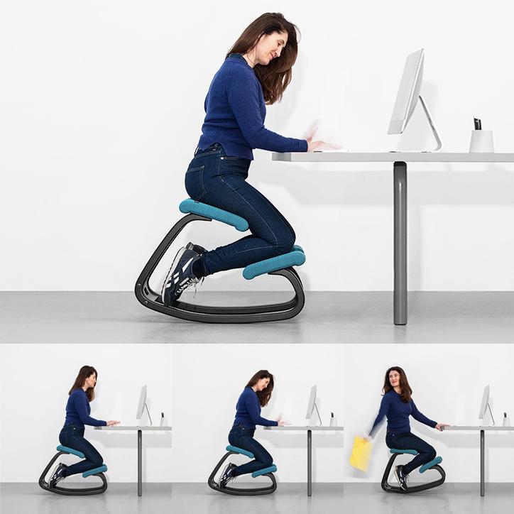 理想的な姿勢で座れる椅子1