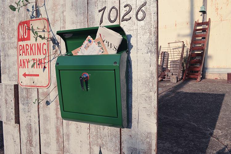 TK-2076 Mail Boxのある暮らし