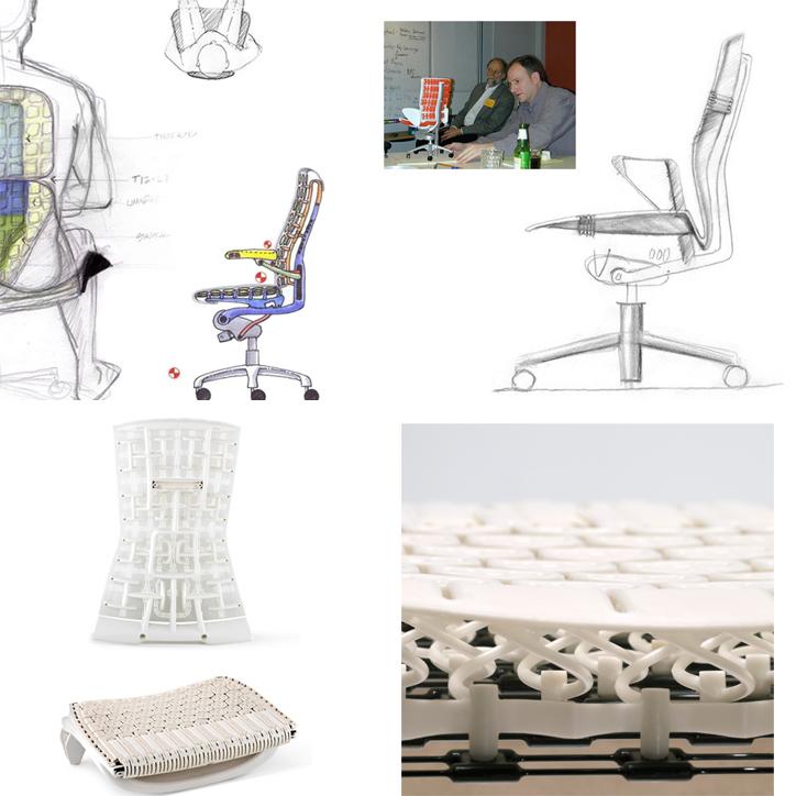 新たな機能的な椅子 エンボディチェア