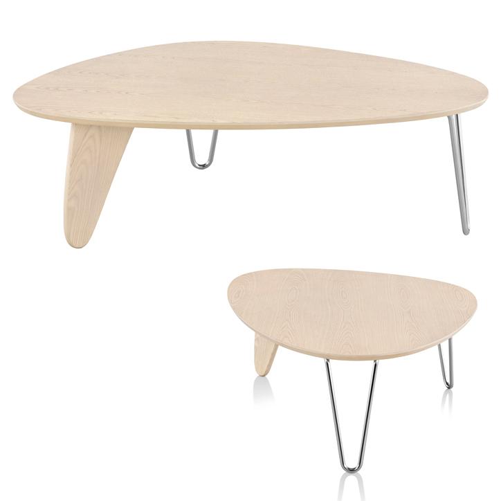 ノグチ ラダーコーヒーテーブル ホワイトアッシュ 詳細3