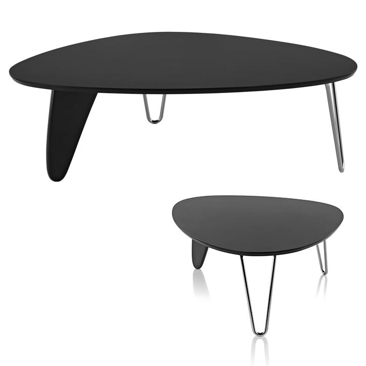 ノグチラダーコーヒーテーブル ブラック 詳細3