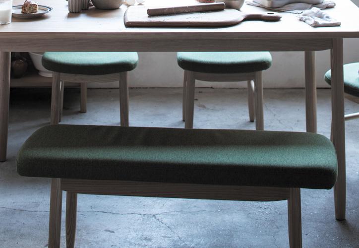 SVE-DB004 saucer dining bench 3