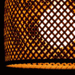 涼しげな和洋折中ライト SKランプ