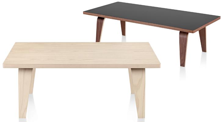 イームズデザインの長方形テーブル イームズレクタンギュラーコーヒーテーブル