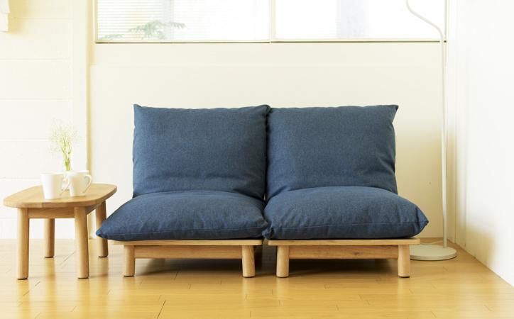 パーソナルなソファ / quilt sofa キルトソファ
