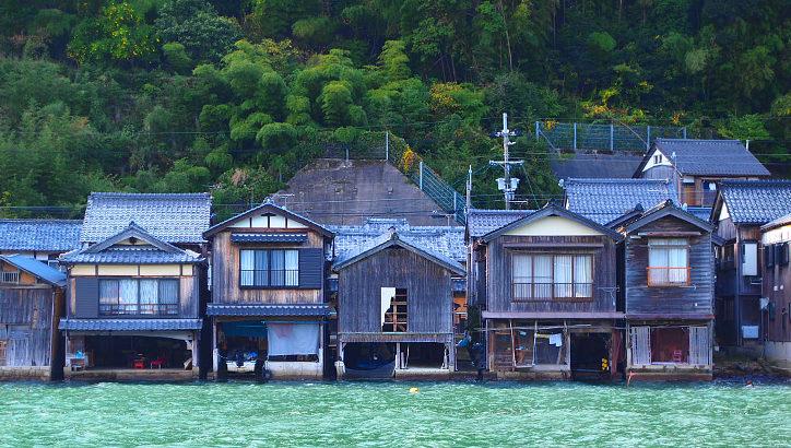 京都 伊根 舟屋