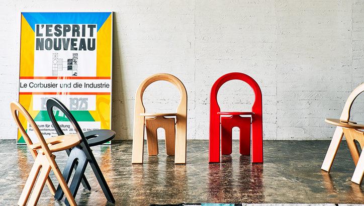 反則的なオシャレ折りたたみ椅子 TSチェア