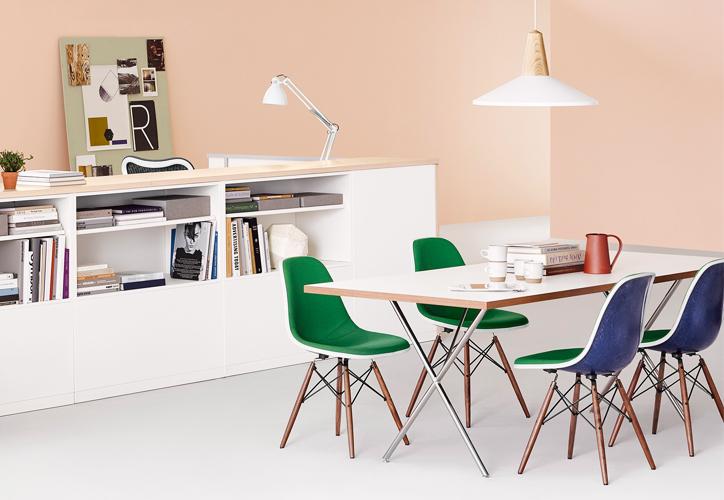 ハーマンミラー ネルソンXレッグテーブルの画像