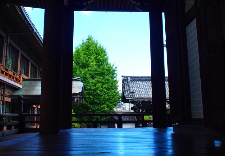 京都散歩 | 京都市内の避暑地 佛光寺