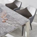 その様は大理石を使った高級ダイニングテーブル | DT-15-150 ダイニングテーブル