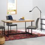 ダイニングテーブルだけに留まらないモダンなテーブル | DT-18-150 ダイニングテーブル