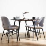 カフェ風の上質なダイニングテーブル | DT-24-135 ダイニングテーブル
