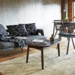 カウチソファで使い易い三角形のテーブル | LT-75 リビングテーブル