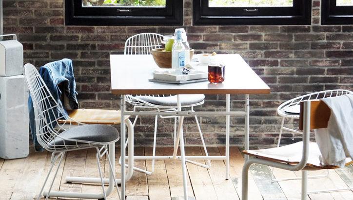アイアーマンテーブル Eiermann Tableの天板いついて